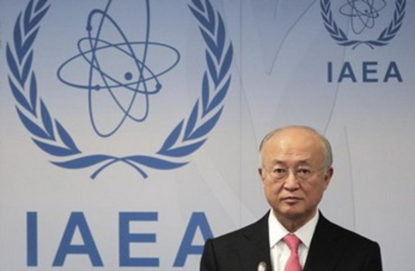 IAEA Director General Yukiya Amano 370 (photo credit: Reuters)