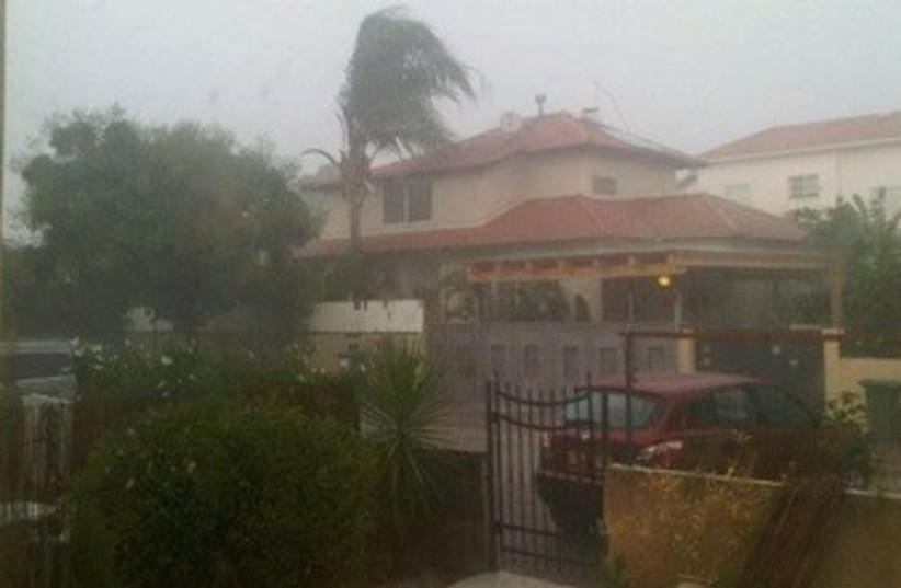 Rain storm 370 (photo credit: Daniella Crankshaw)