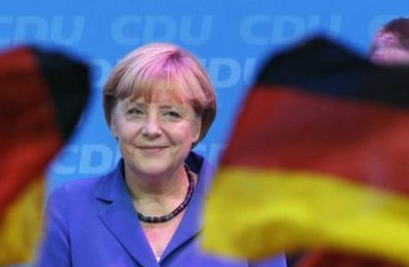 Angela Merkel (photo credit: Reuters)