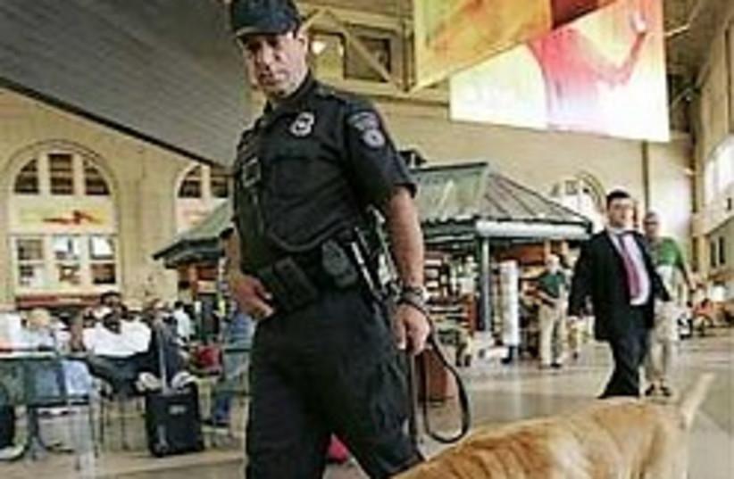 airport security US dog 248 88 ap (photo credit: )