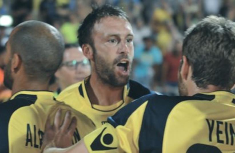 MACCABI TEL AVIV striker Rade Prica 370 (photo credit: Uzi Gal)