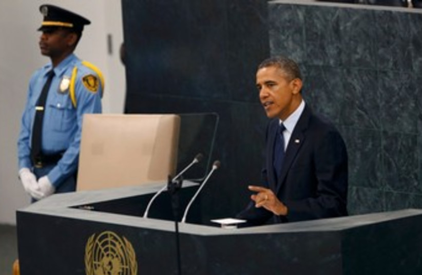 Obama UNGA 913 370 (photo credit: REUTERS)