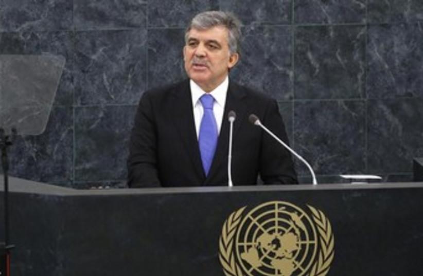 Turkish President Abdullah Gul 370 (photo credit: REUTERS/Mike Segar)