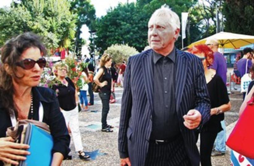 British director Peter Greenaway (photo credit: Courtesy PR)