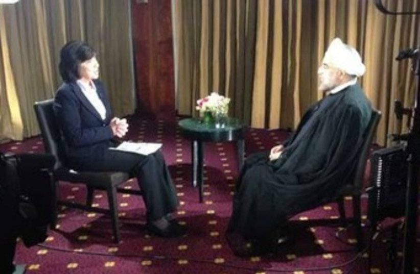 Rouhani CNN interivew 370 (photo credit: Courtesy)