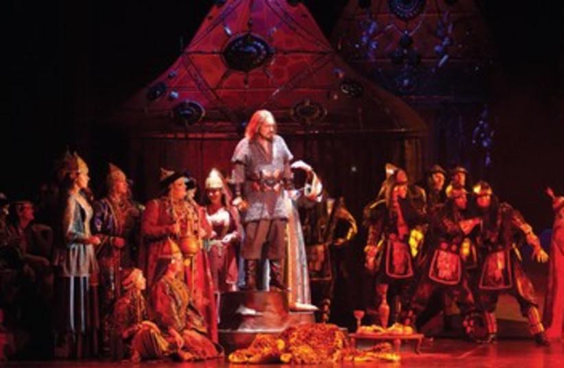 'Prince Igor' graces the stage of the Israeli Opera (photo credit: Courtesy)