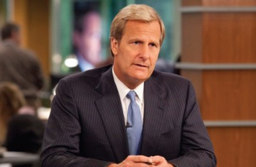 Jeff Daniels in The Newsroom (photo credit: Courtesy)