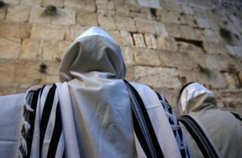 succot at the kotel 390 7 (photo credit: Marc Israel Sellem/The Jerusalem Post)
