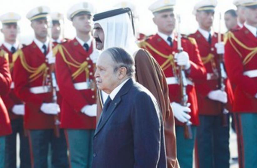 Algerian President Abdelaziz Bouteflika 370 (photo credit: REUTERS)