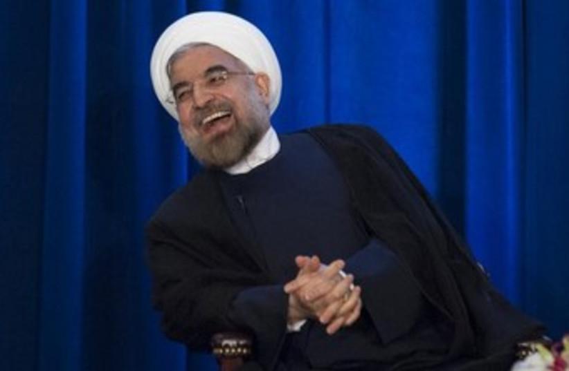 Iran's President Hassan Rouhani  (photo credit: Reuters)