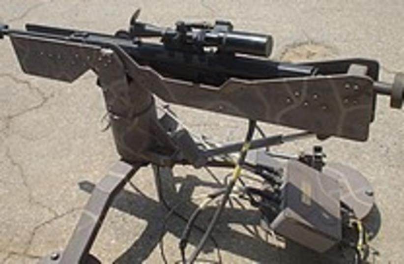 sniper rifle 224 88 (photo credit: Yaakov Katz)