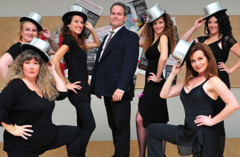 The cast of Broadways Babes by Desert Rose Productions (photo credit: Lior Linevitz)