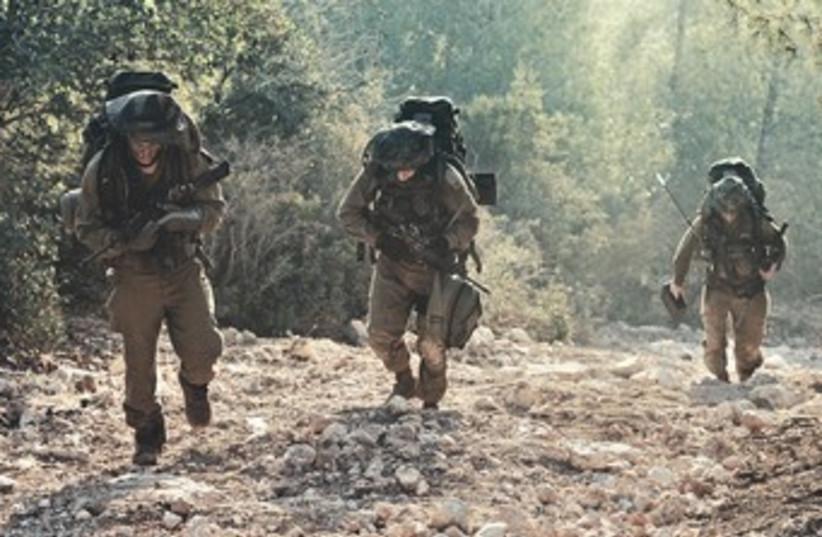 IDF Combat Intelligence Collection Battalion patrol 370 (photo credit: IDF Spokesman)