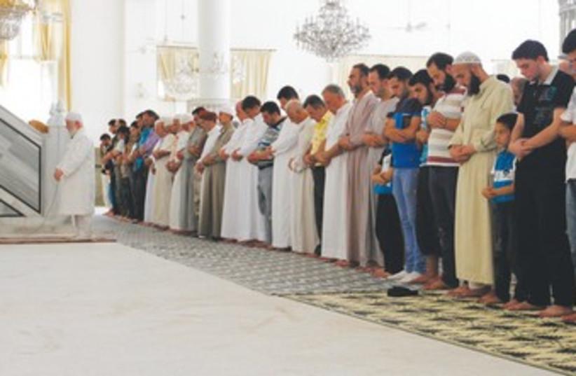 A Sunni sheikh 370 (photo credit: REUTERS)