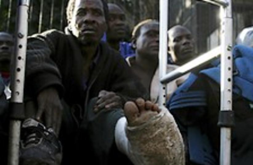 zimbabwe refuge 224.88 (photo credit: AP)