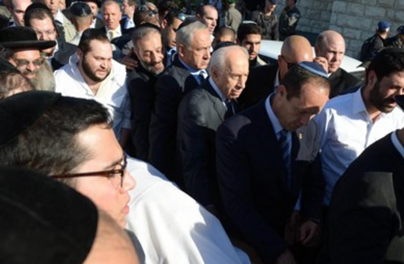 Mourning Rabbi Ovadia Yosef (photo credit: GPO)