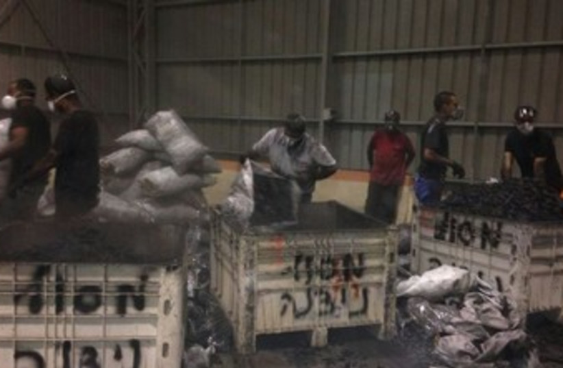 Drugs smuggled from Egypt (photo credit: Courtesy)