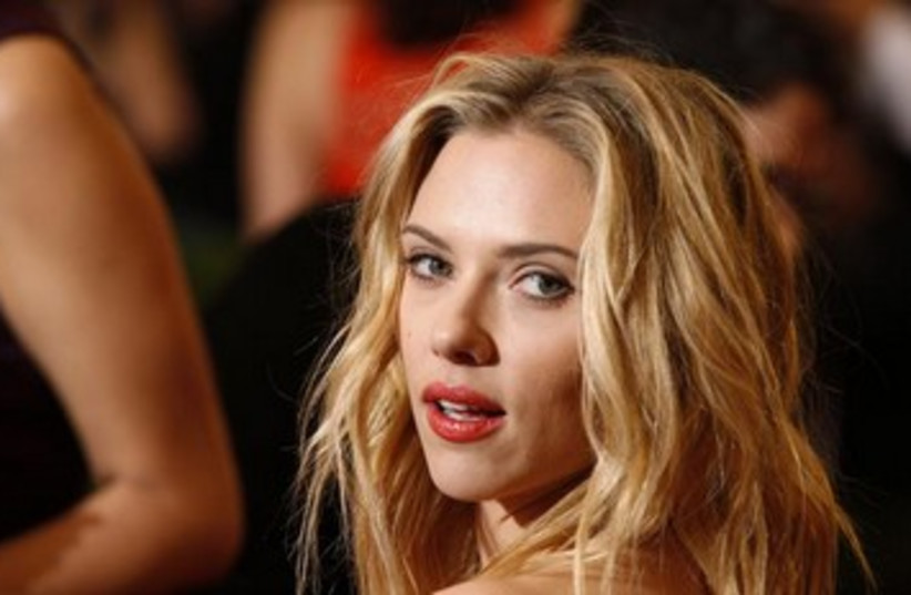 Scarlett Johansson 370 (photo credit: REUTERS/Lucas Jackson)