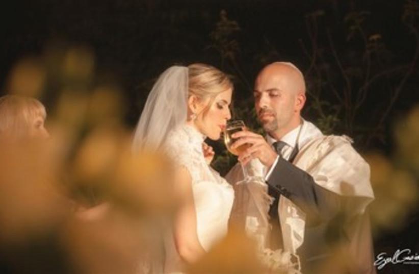 Ronit and Elliot's wedding (photo credit: Eyal Gaziel)