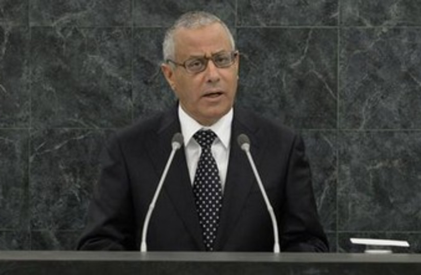 Libyan  Prime Minister Ali Zeidan 370 (photo credit: REUTERS)