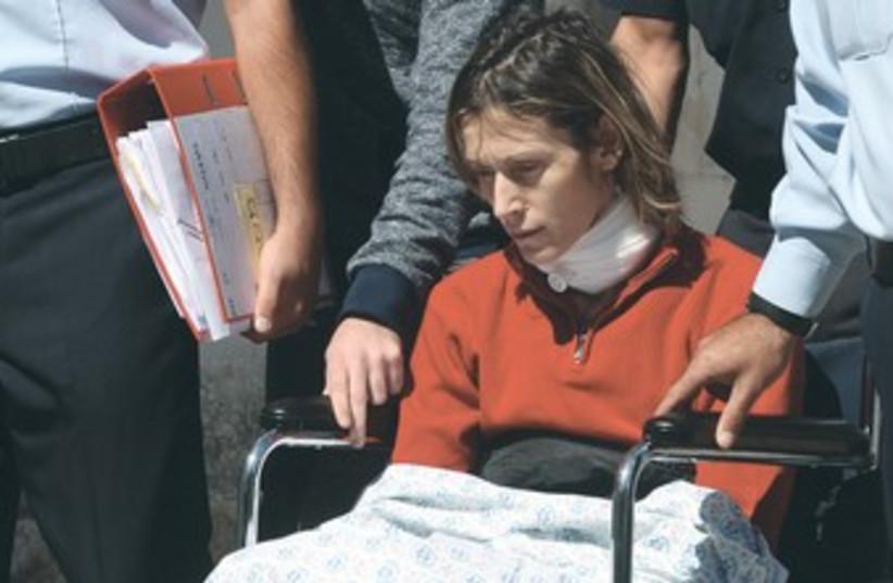 Murder suspect Carina Brill 370 (photo credit: Marc Israel Sellem/The Jerusalem Post)