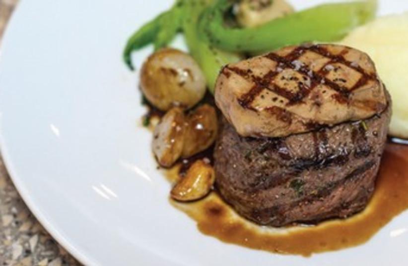 Angelica's grilled beef tenderloin (photo credit: courtesy)