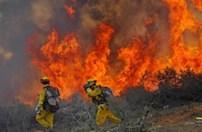 california fires 224.88 (photo credit: AP)