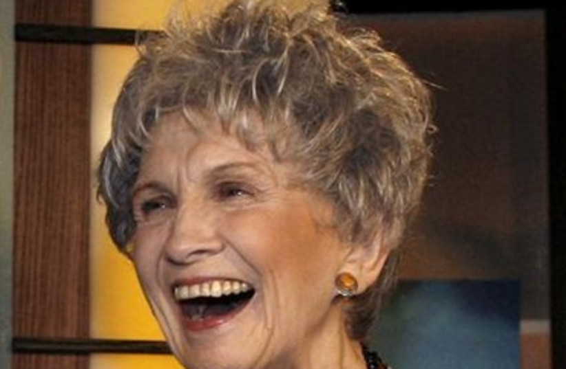 alice munro 370 (photo credit: Reuters)