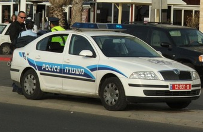Police car370 (photo credit: Wikimedia Commons)