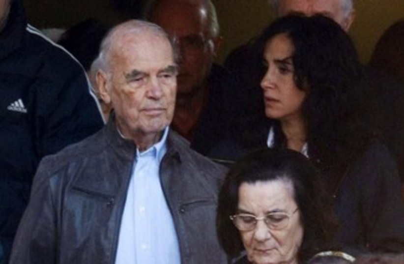 Convicted Nazi war criminal Erich Priebke 370 (photo credit: REUTERS)