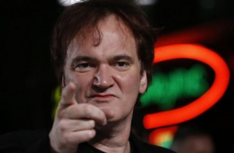 Quentin Tarantino 370 (photo credit: REUTERS/Olivia Harris)