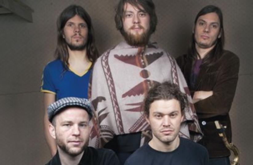 German band Coogan's Bluff 370 (photo credit: Hanna Drabon)