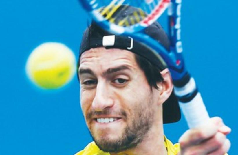 Israeli tennis star Amir Weintraub370 (photo credit: REUTERS)