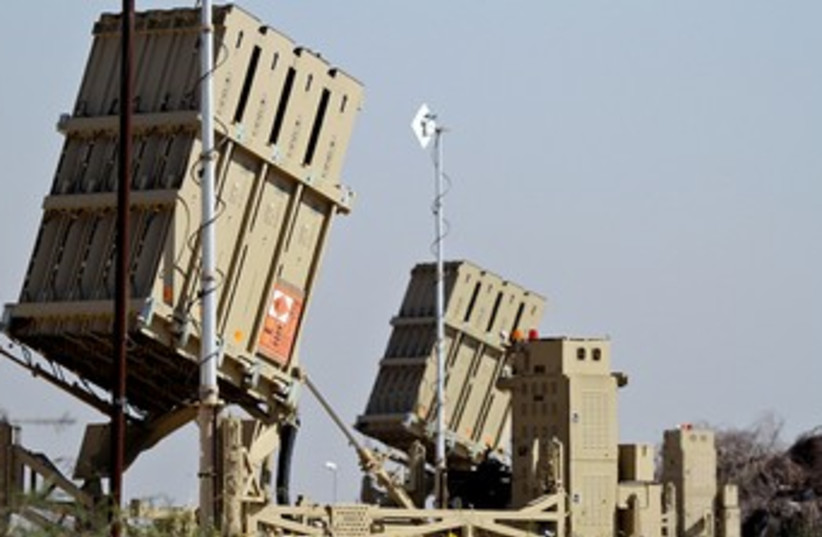 Iron Dome 370 (photo credit: IDF Spokesperson)