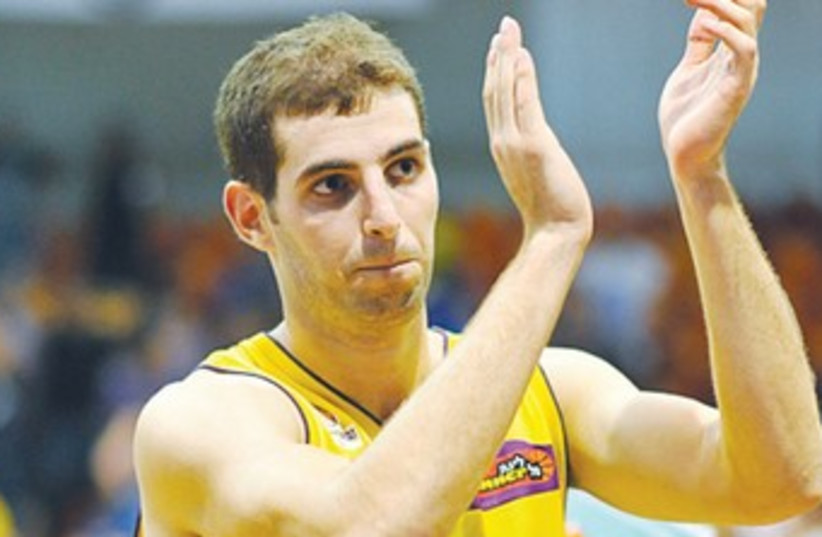 Hapoel Holon's Guni Izraeli 370 (photo credit: Asaf Kliger)