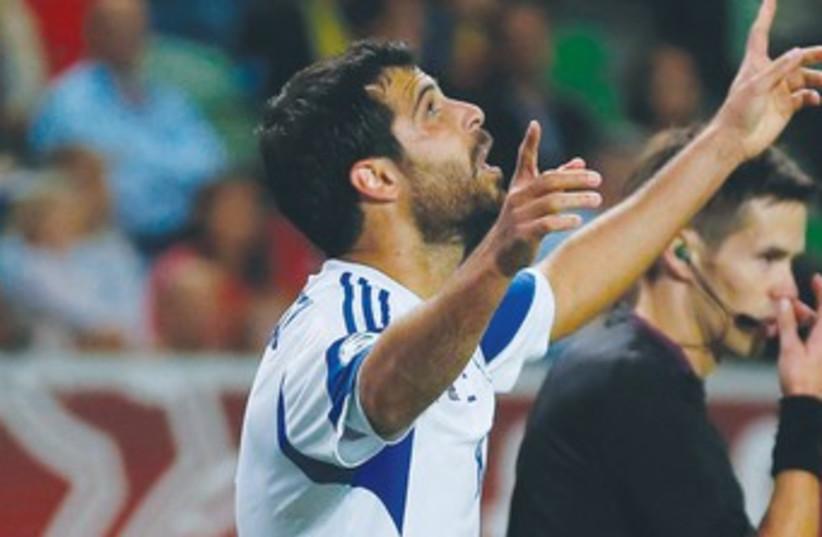 Israeli soccer star Eden Ben-Basat 370 (photo credit: REUTERS)