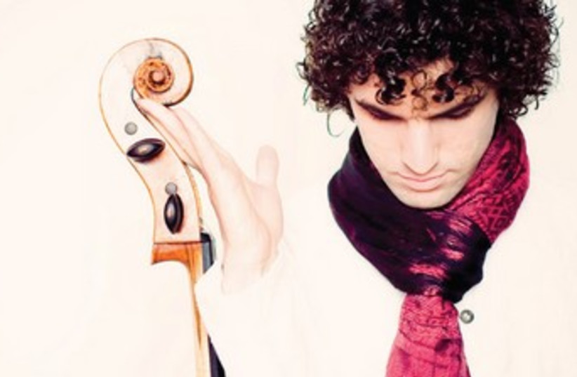 Gavriel Lipkind, Israeli Cellist based in Germany. (photo credit: courtesy)