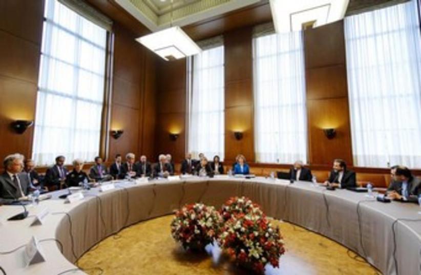Iranian nuclear talks 370 (photo credit: REUTERS)