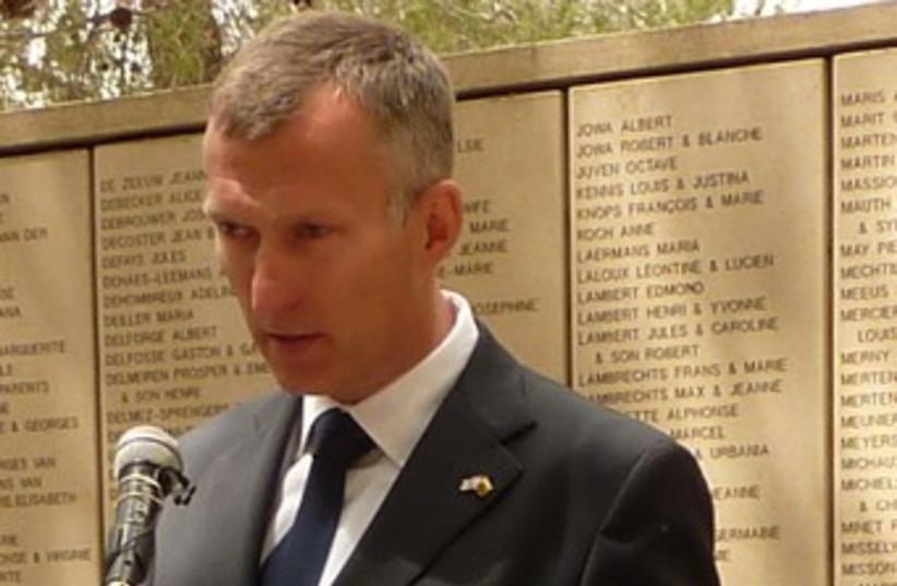 Lithuanian ambassador Darius Degutis 370 (photo credit: Courtesy)