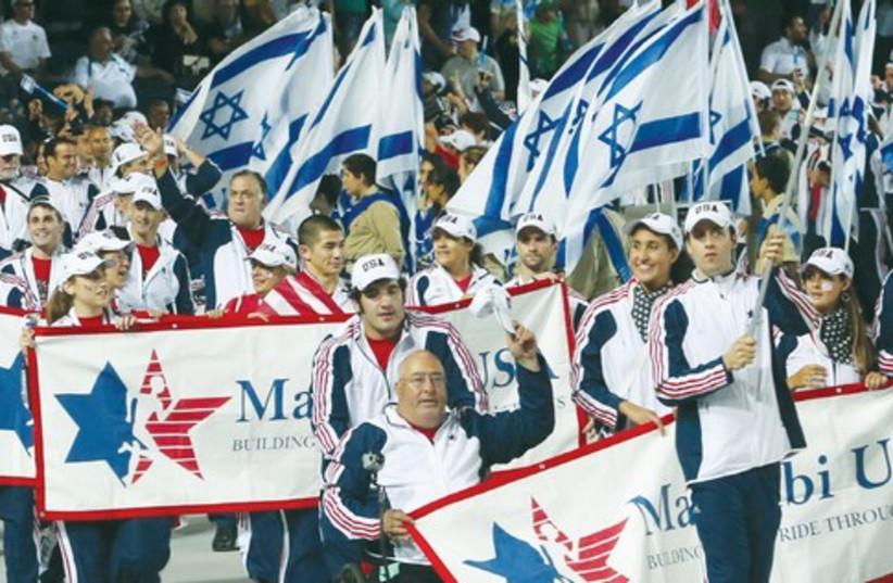 Team USA at the Maccabia 2013 521 (photo credit: Marc Israel Sellem/ The Jerusalem Post)