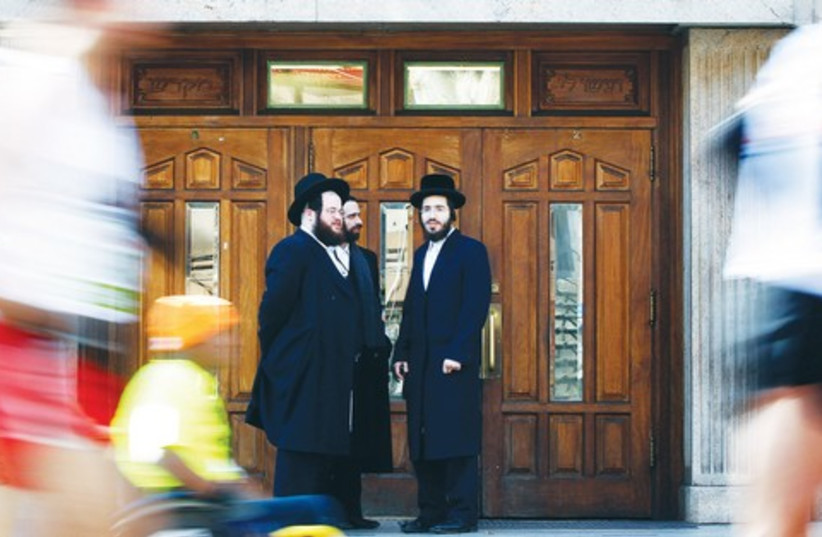 Ultra-Orthodox Jewish in NY 521 (photo credit: REUTERS)