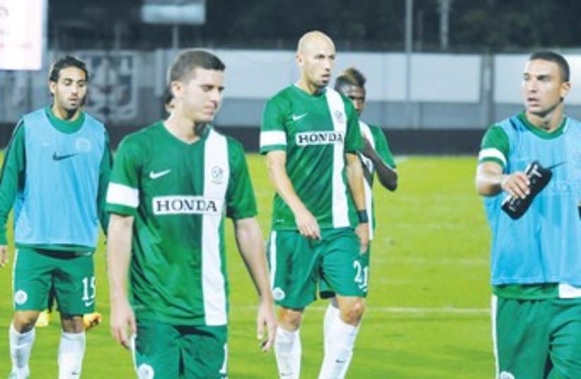 maccabi haifa players 370 (photo credit: Uzi Gal)