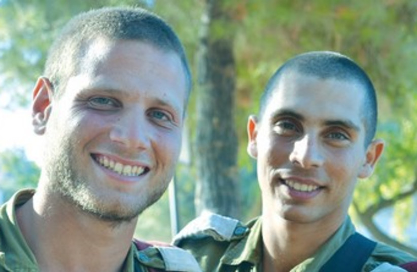 OR LEVY (left) and Eden Adler 370 (photo credit: IDF)