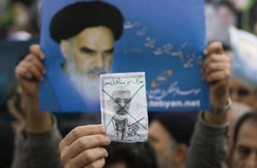 Mirhossein Mousavi photo 370 (photo credit: REUTERS/Raheb Homavandi )