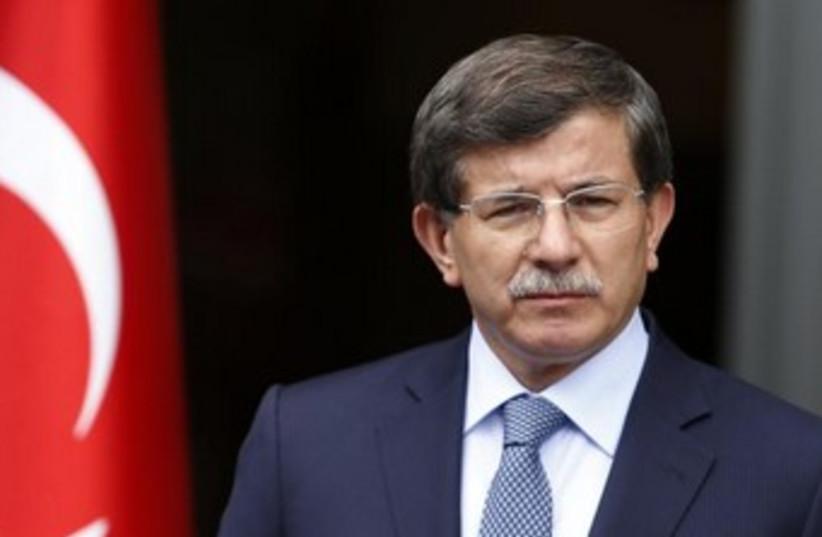 Turkish FM Ahmet Davutoglu 370 (photo credit: REUTERS)