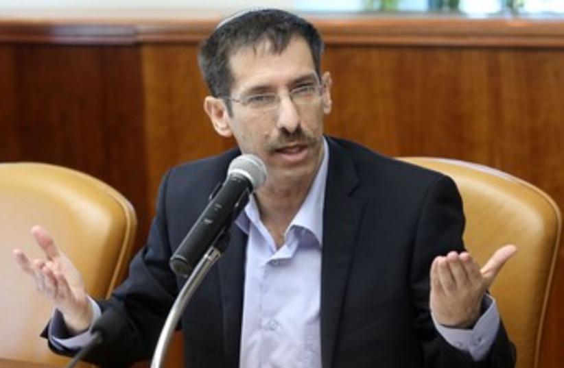 Uri Orbach 370 (photo credit: Marc Israel Sellem/The Jerusalem Post)