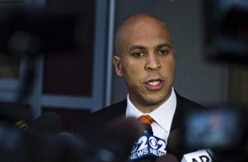 New Jersey Senator Cory Booker 370 (photo credit: REUTERS)