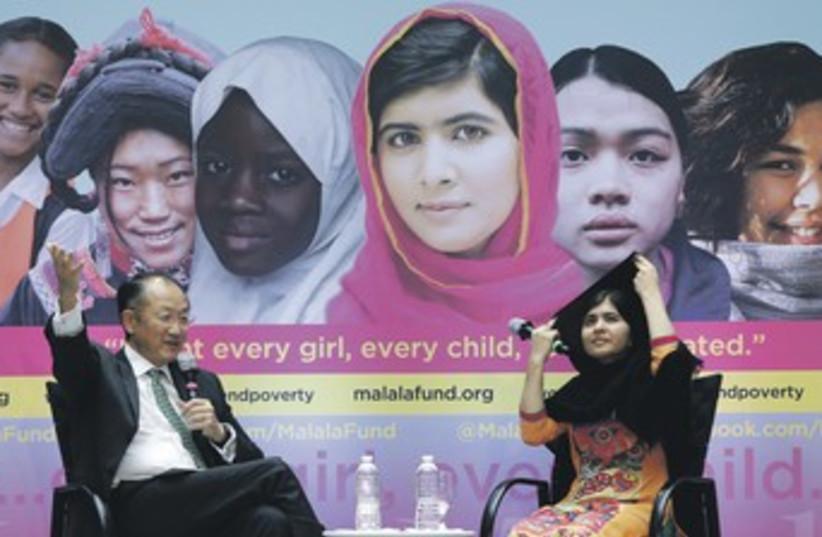 Malala Yousafzai 370 (photo credit: REUTERS)