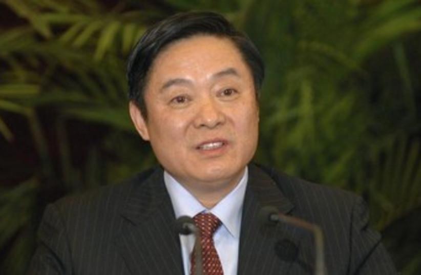 Liu Qibao 370 (photo credit: REUTERS/China Daily)