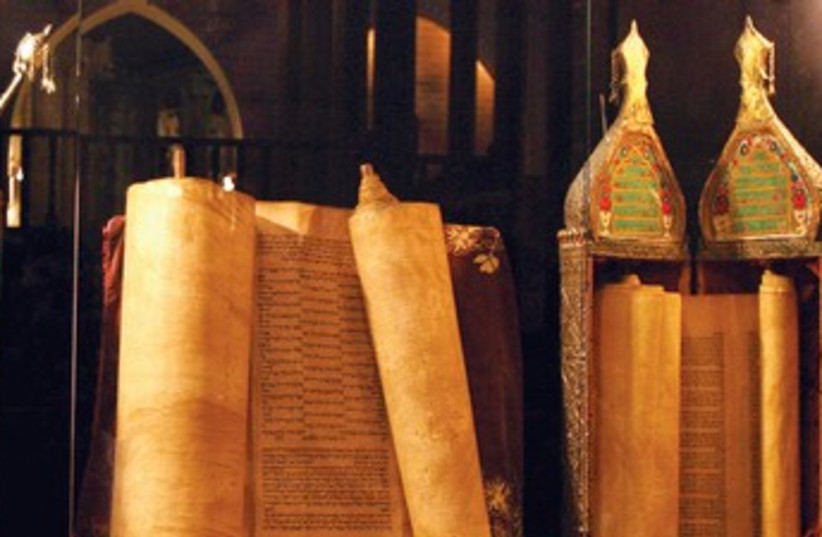 Torah scrolls from Iraqi Jews 370 (photo credit: REUTERS)